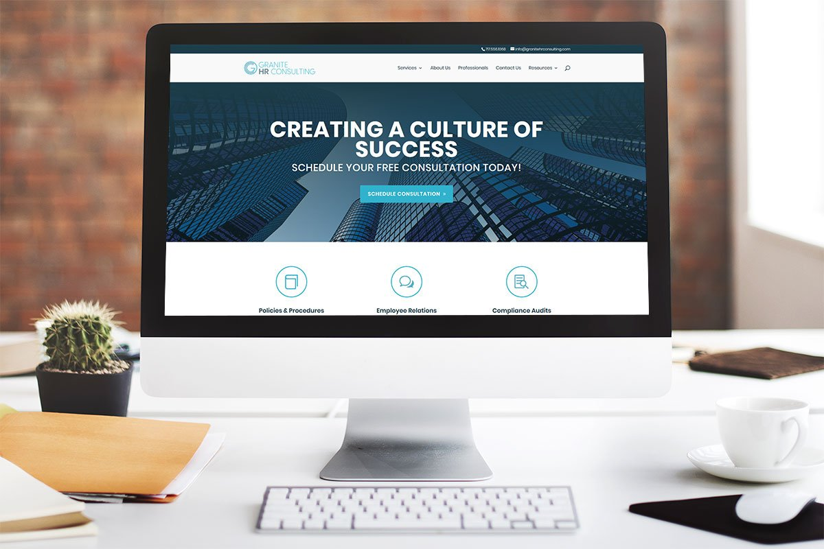 Granite HR Website Design by Granite Creative Group in Lancaster, PA